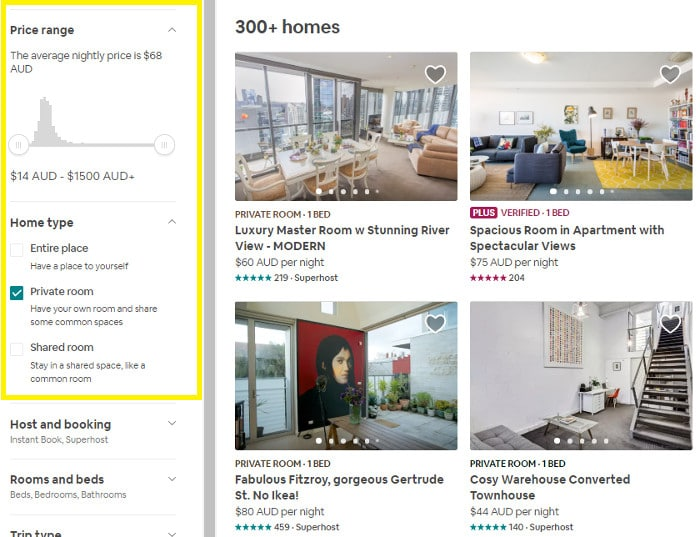 Private Room vs Entire Place - Which Airbnb should I choose?