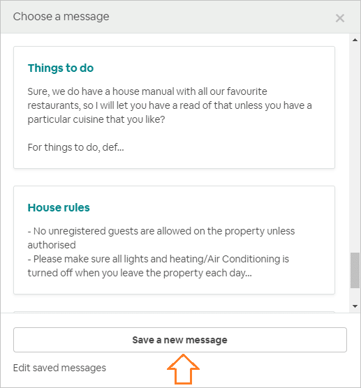 13 Essential Airbnb Message Template examples for Hosts