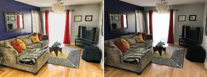 Comment prendre des photos Airbnb avec Snapseed