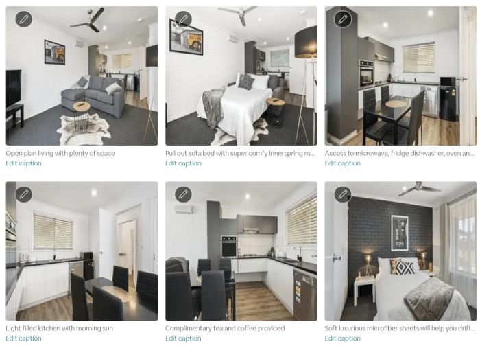 Comment ajouter des légendes à vos photos Airbnb